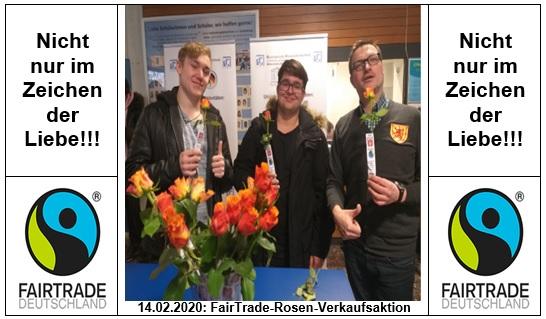 """Fairtrade Rosen für """"Fair""""liebte"""